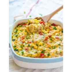 Considerable Corn Ken Corn Casserole From Scratch Creamed Corn Casserole From Scratch Cheesy Quinoa Casserole Cheesy Corn Ken Quinoa Casserole A Lightened Healthy Corn Bakemade