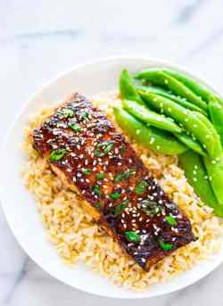 Joyous Soy Ginger Salmon Soy Ginger Salmon Salmon Patties What Goes Good Rice Salmon What Goes Good