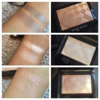 Burberry 'Wet & Dry Glow Eyeshadows': Nude, Shell and Gold Pearl