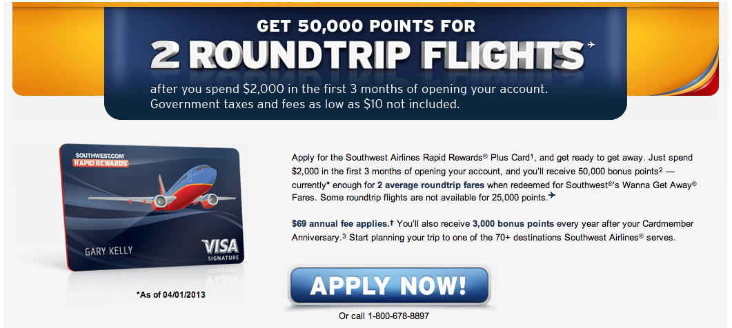 The ficial Southwest Rapid Rewards Card fer is Back up