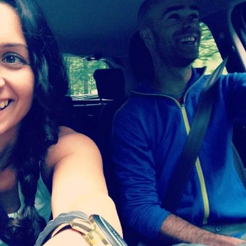 Driving through Montenegro's Biogradska Gora