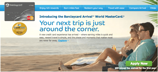 The Barclaycard Arrival is upping its minimum spending requirement soon.