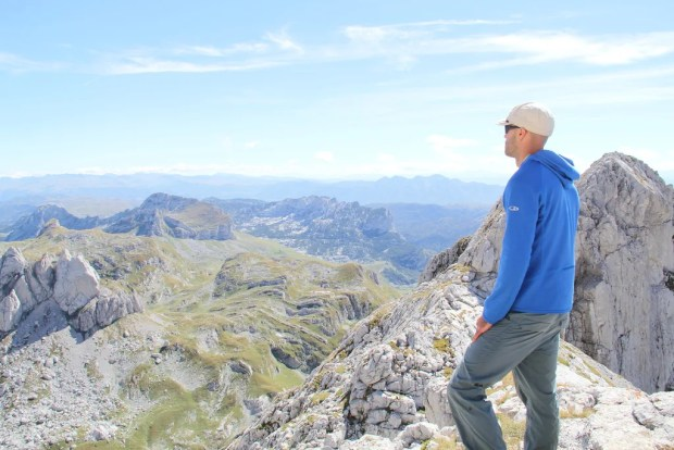 Hiking in Durmitor National Park</center.