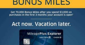 70,000 Mile Sign-up Bonus on United Explorer Card is Live-01