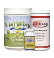 Whey Protein Powder, Glutamine, Colustrum