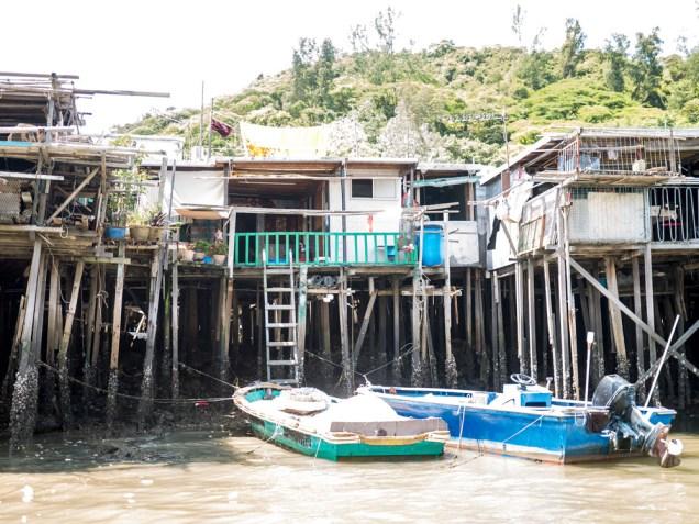 Tai O Fischerdorf Hong Kong