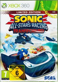 Xbox 360 Cover von Sonic & All Stars Racing Transformed