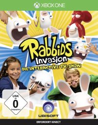 Rabbids Invasion - Cover