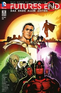 Comic Cover - Futures End: Das Ende aller Zeiten #8, Rechte bei Panini Comics