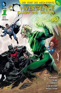 Cover von Convergence #1 - Convergence, Rechte bei Panini Comics
