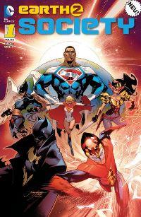 Comic Cover - Earth 2: Society #1: Neue Welt, Rechte bei Panini Comics