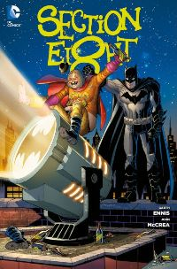 Comic Cover - Section Eight, Rechte bei Panini Comics