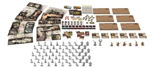 Spielinhalt - Zombicide Black Plague, Rechte bei Asmodee