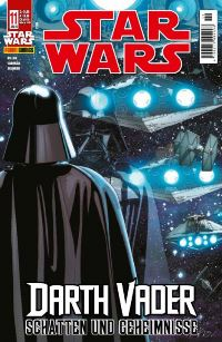Comic Cover - Star Wars #11: Darth Vader - Schatten und Geheimnisse, Rechte bei Panini Comics