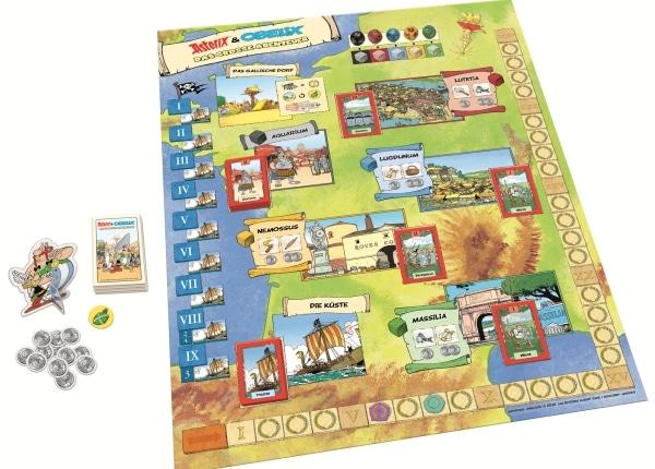 Asterix und Obelix - Das grosse Abenteuer - Spielaufbau