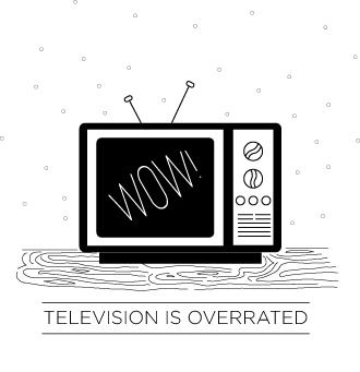 TV illustration | Haley Harmon | We Made it Home