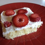 Strawberry Shortcake sheetcake