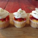 Strawberry Basil Lemonade Cupcakes- NEW!