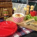 A pretty picnic on Studio 5