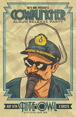 Hustle Album Release – Nite Owl - May 14, 2016 – w/ League of Wolves and the Sweets