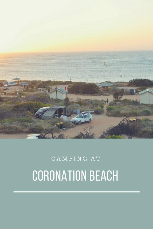Camping at Coronation Beach