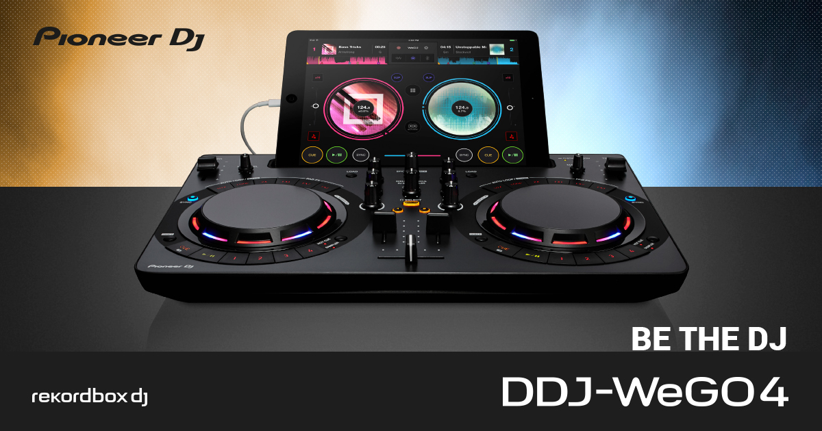 Pioneer DJ release the DDJ-WeGo4 for RekordBox and WeDJ