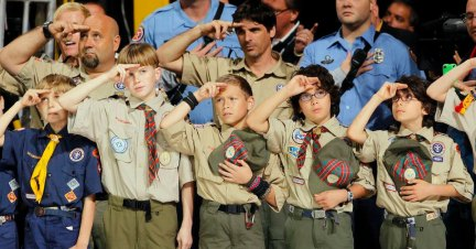 Image result for Boy Scouts Lose 425,000 Boys 1 Week After Announcing Name Change