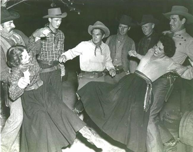 women western movie catfight