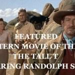 The Tall T Randolph Scott Richard Boone western movie
