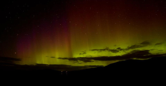 Northern Lights Over Harris
