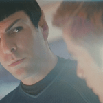 Fan theories and embarrassment at Star Trek screenings.