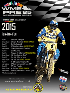 2015 WME Pre85 Fixtures Poster - Kevin Reed WS