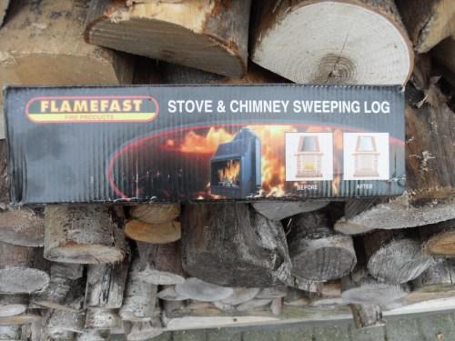 Medium Of Creosote Sweeping Log