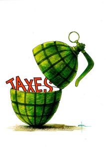 Thurston County is always tossing tax grenades at residents