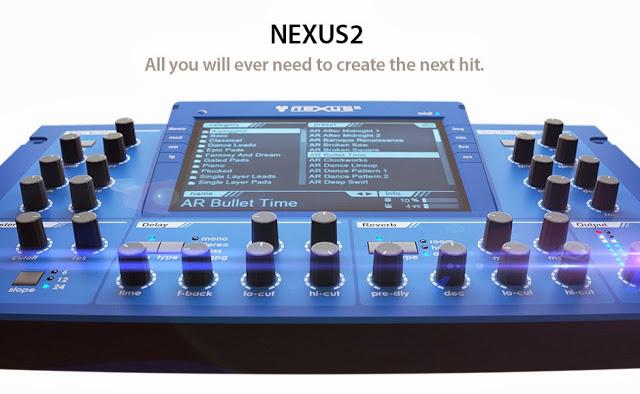 Download Free NEXUS 2.2 VSTI + 30 expansions + 10 skins For Free