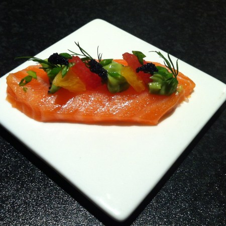 Cooking: Grapefruit Cured Salmon