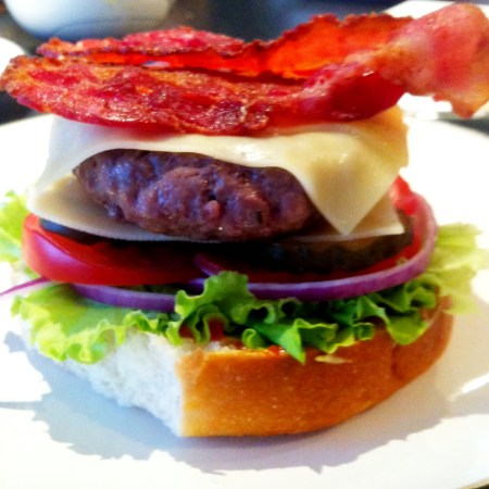 Cooking: Bacon and Cheese Burgers