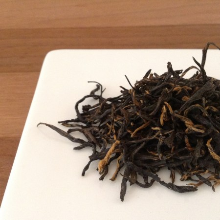 Drinking: Golden Monkey Tea (Black Tea)