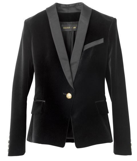 The perfect Velvet Blazer