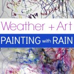 Watered Color: Painting with Rain Art Project