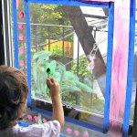Window Painting: Rainy Day Activity