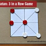 3 in a Row Game: Tapatan
