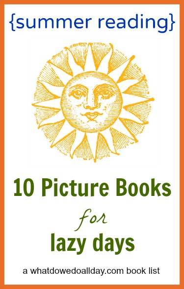 Kids books for summer reading