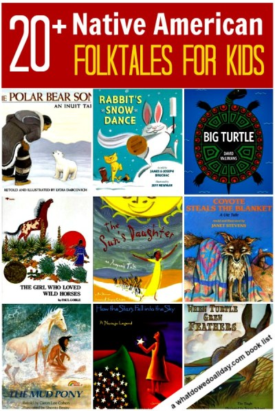Native American folktales for kids (North America) -- picture books