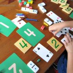 Kindergarten Number Matching Game