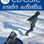 14 Classic Outdoor Winter Activities for Kids