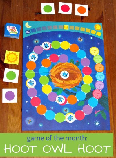 Hoot Owl Hoot is a great cooperative game for kids. No fighting!!!