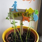 Indoor Gardening Activity: Kid-made Plant Markers