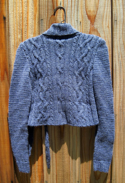 Sweater, back
