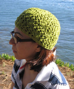 The Santa Cruz hat in worsted weight